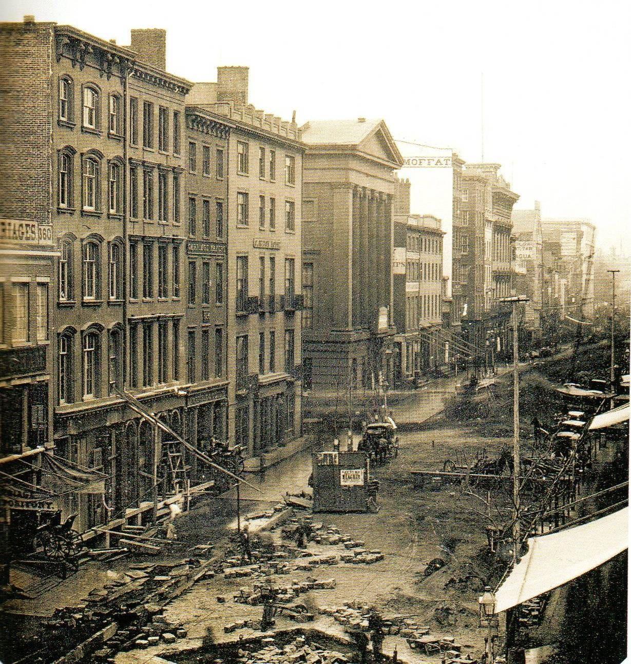 New York en 1850