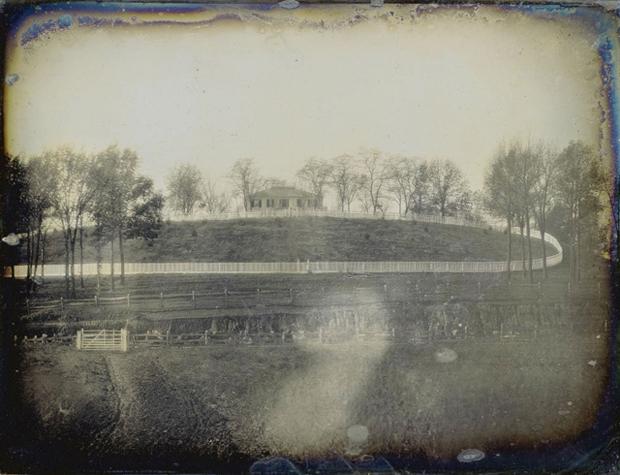 New York vieille photo 1848