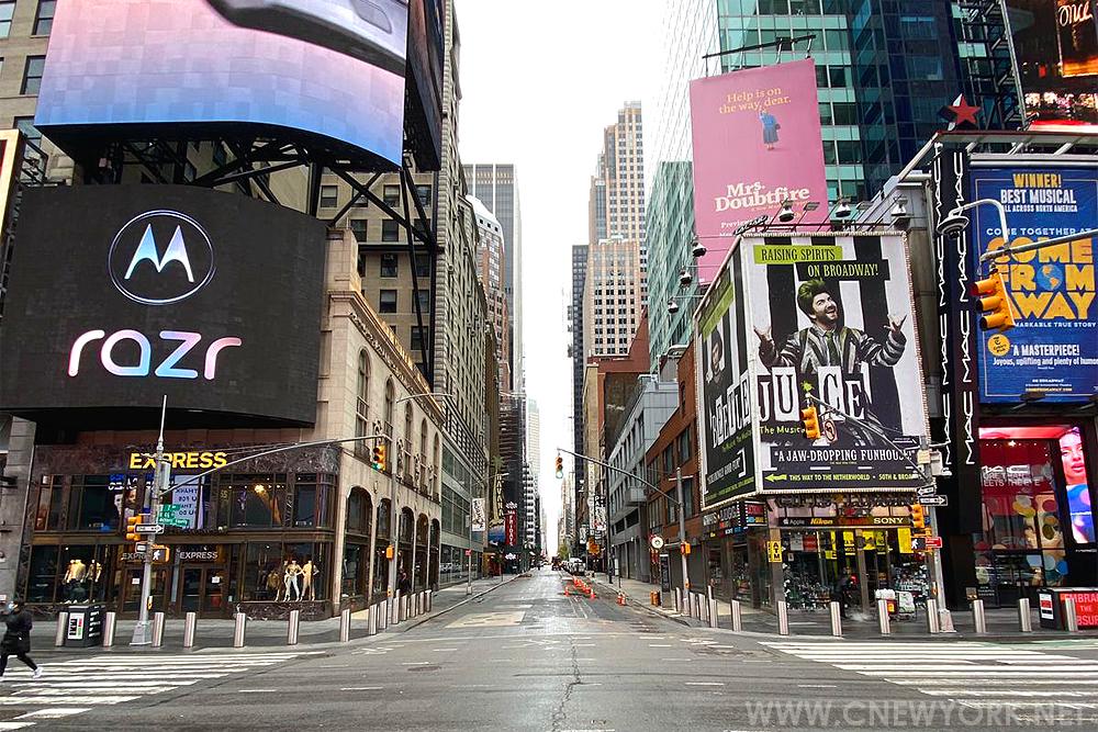 Times Square Covid-19