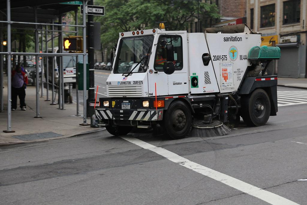 le camion balai doit avoir le champ libre à New York (Photo DR)
