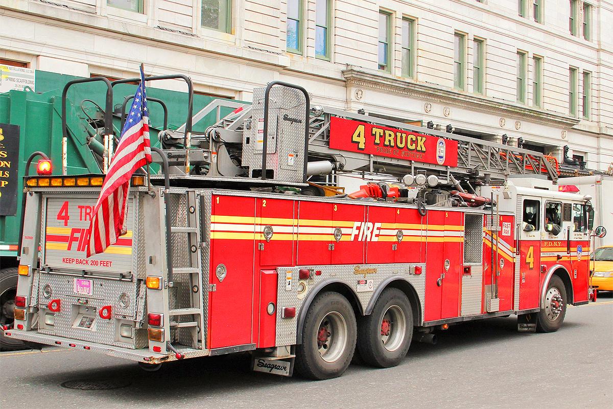 camion pompiers new york