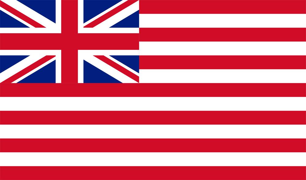 drapeau compagnie britannique indes