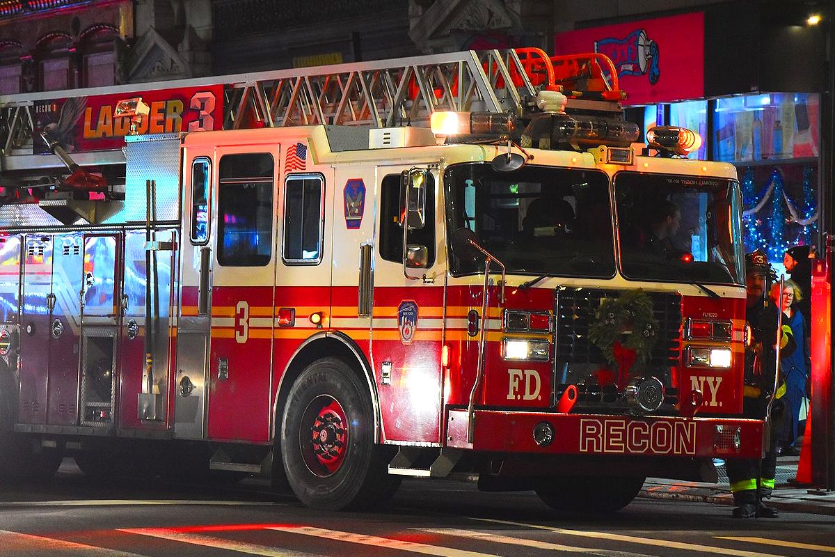 pompiers new york nuit