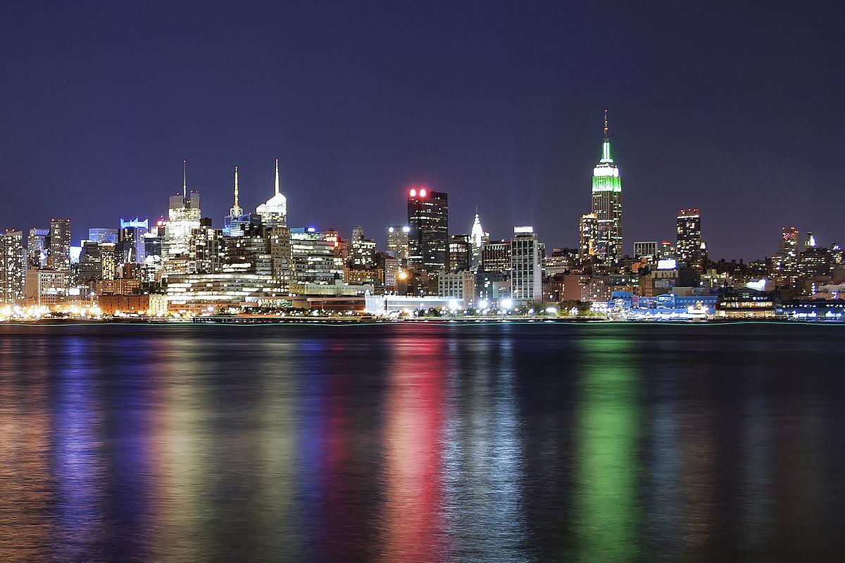 new york nuit manhattan