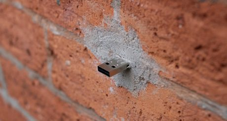 Des clés USB scellées dans New York