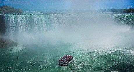 Envolez-vous vers les Chutes du Niagara !