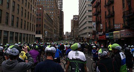 New York à vélo : au coeur du Five Boro Bike Tour !