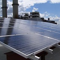 New York, future City solaire