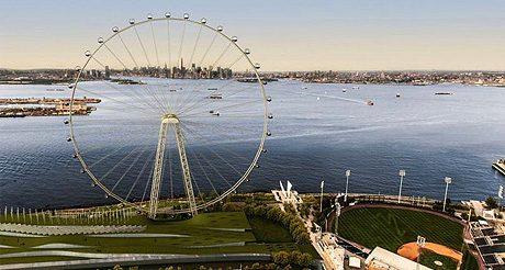 New York s'offre une grande roue