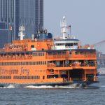 Le ferry de Staten Island à New York