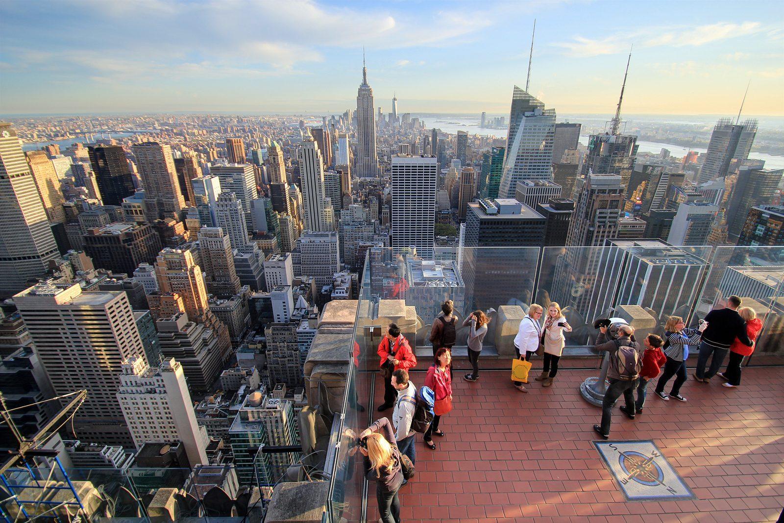 Test Top Of The Rock, la plus belle vue de New York