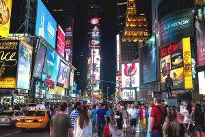 Times Square de nui