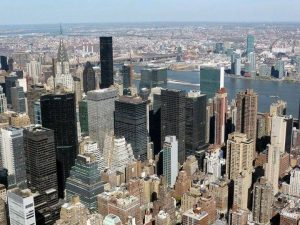 Midtown depuis l'Empire State building