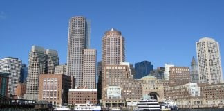La skyline de Boston