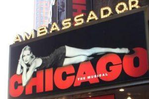 Chicago à l'Ambassador Theater.