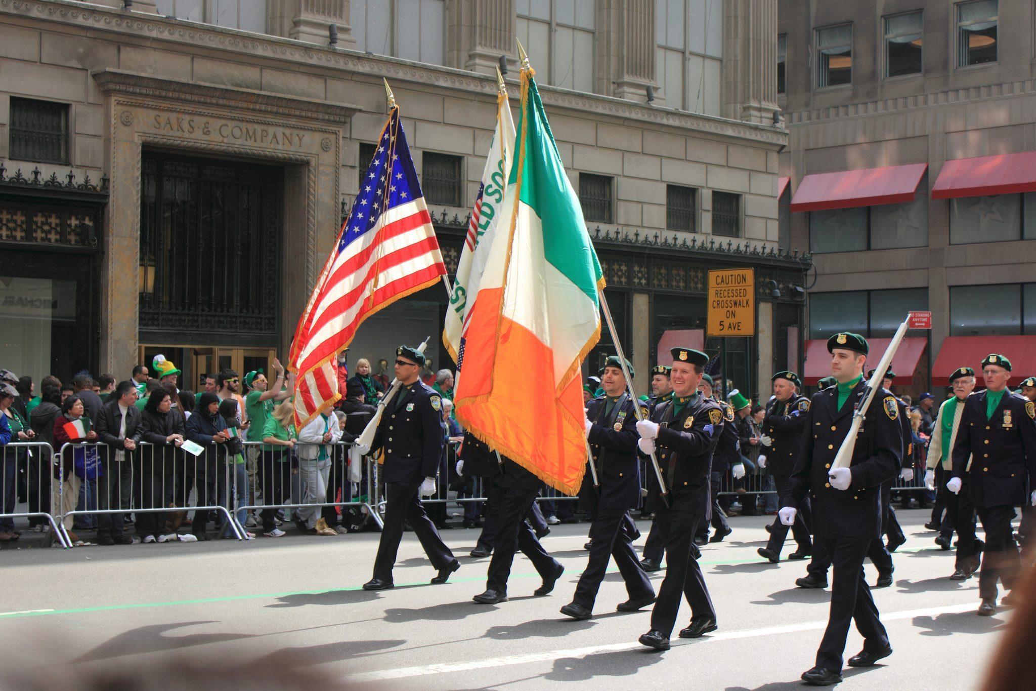 Saint-Patrick à New York