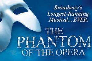 L'affiche du Phantom of the Opera