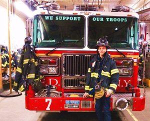 Les pompiers de New York ont une nouvelle recrue !