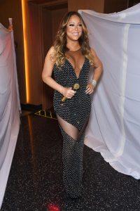Mariah Carey entre en scène. (Photo DR)