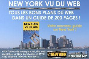 Le lancement du guide New York vu du Web.