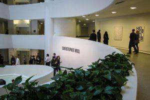 Le colimaçon du Guggenheim Museum. (Photo Boris Dzhingarov)