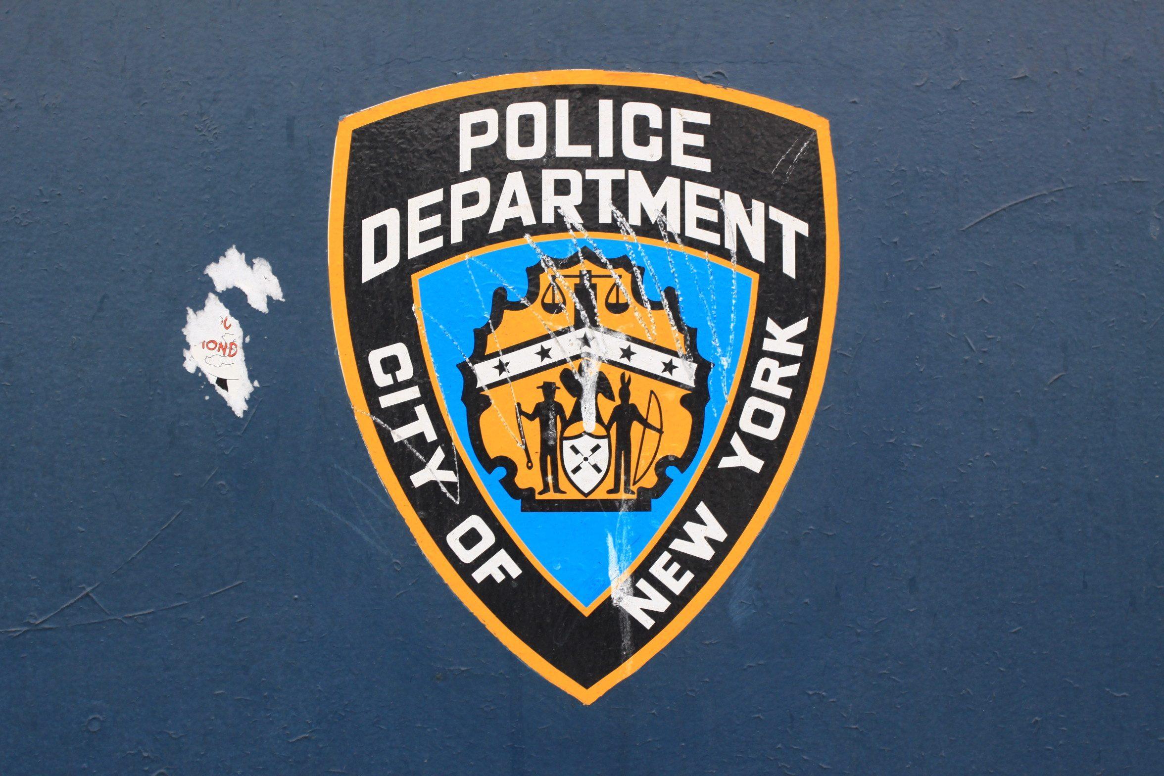 Ecusson de la police de New York