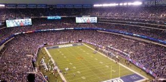 match football américain New York Giants