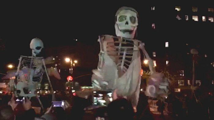 parade de halloween à New York