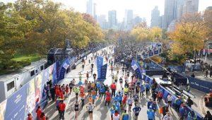 ligne d'arrivée marathon de New York