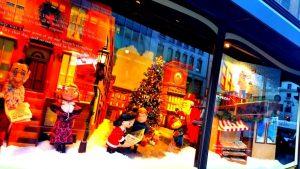 Vitrine de Noël à New York