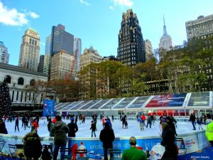 Patinoire Bryant Park New York