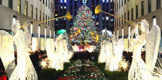 New York Rockefeller Center Noël
