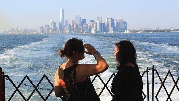 Voyage à New York