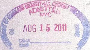 Tampon douane Etats-Unis