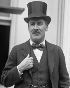 L'archéologue Howard Carter en 1924. (Photo Library of Congress)