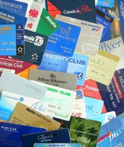 Cartes de fidélité compagnies aériennes