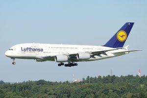 Un A380 de Lufthansa. (Photo Kentaro Iemoto)