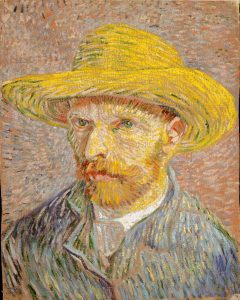 Autoportrait par Vincent Van Gogh. (Photo MET)