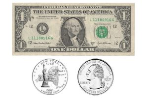 dollar billet pieces