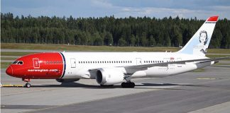 Norwegian Boeing 787-800 Dreamliner