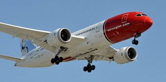 norwegian low cost boeing 787 new york