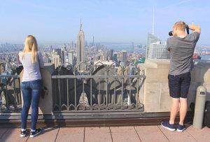 La vue depuis le Top of the Rock restera gravée pour longtemps !