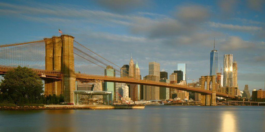 New York depuis le Brooklyn Bridge Park