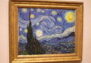 """La """"nuit étoilée"""" de Vincent Van Gogh au MoMA."""
