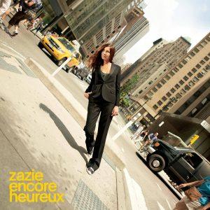 La pochette du nouvel album de Zazie.