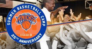 Le logo du Knicks Summer Basketball Camp.