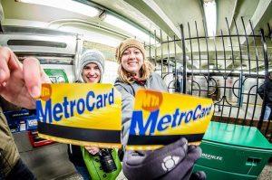 Des touristes ravies de leur MetroCard