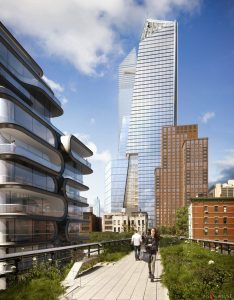 Hudson Yards depuis la High Line