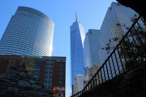 La vue sur la One World Trade Center. (Photo Marjorie)