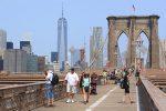 New York vu depuis le pont de Brooklyn